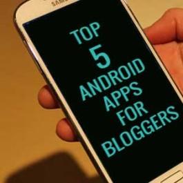 Ứng dụng hay dành cho Blogger trên thiết bị di động