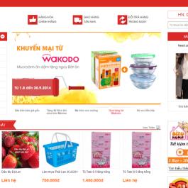 Cửa hàng trực tuyến Cucxu Mart